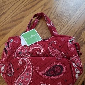 Vera Bradley purse with matching make up bag